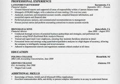 Accounting Resume Samples Singapore