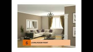 Best Paint Color For Living Room by Living Room Paint Ideas Colors Youtube