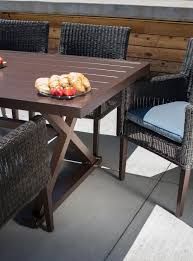 7 Piece Patio Dining Set by Riverview Outdoor Patio Dining Set Denim Blue 7 Piece U2013 La Z
