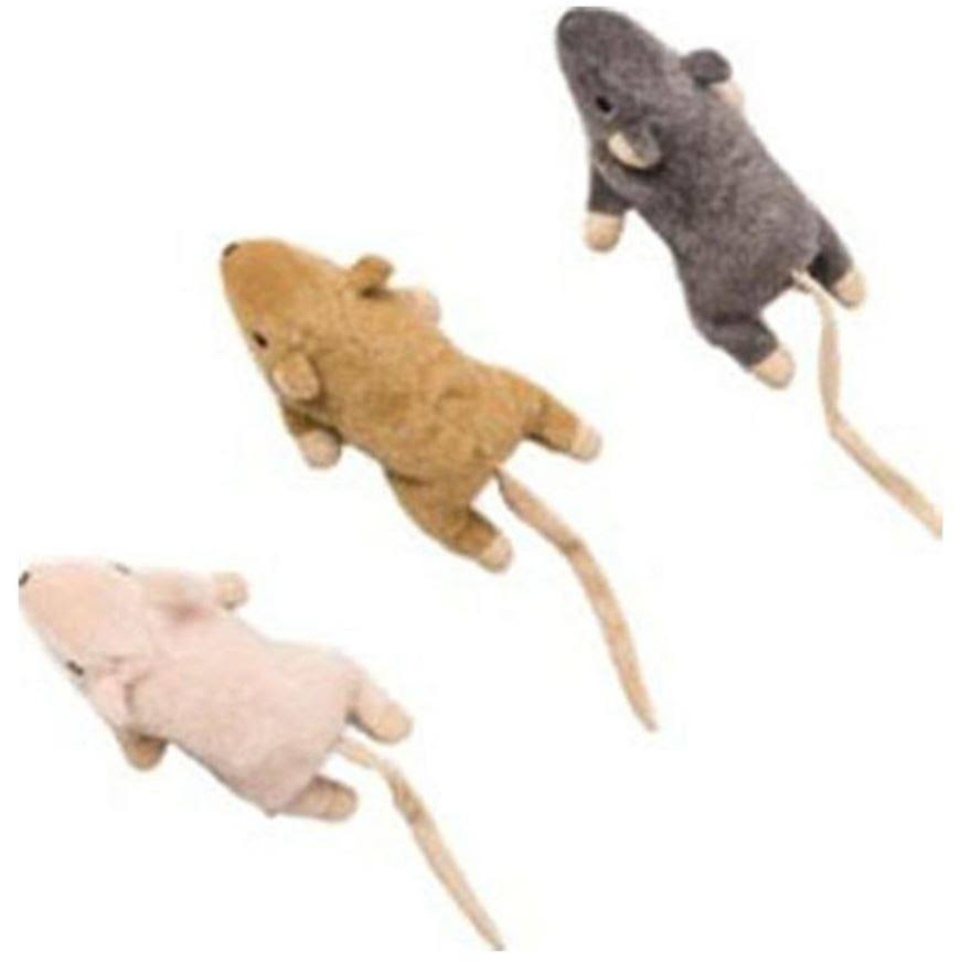 Flat Mouse W/catnip Cat Toy, Assorted