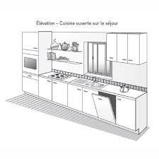 schema cuisine plan de cuisine les différents types standing kitchen