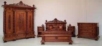 7 teiliges schlafzimmer aus dem danziger barock antike