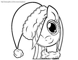 Download My Little Pony Coloring Pages Christmas Print