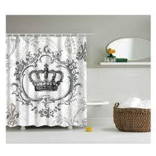 shower curtains magideal badezimmer dekor retro stoff
