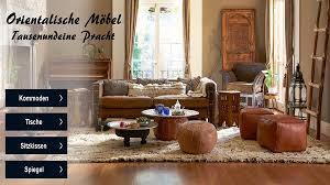 orientalische len marokkanische möbel zum shop
