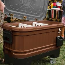 Igloo Coolers | Party Bar 125 Qt Cooler-Bold Bronze Patio Cooler Stand Project 2 Patios Cabin And Lakes 11 Best Beverage Coolers For Summer 2017 Reviews Of Large Kruses Workshop Party Table With Built In Beerwine Ice How To Build A Wood Deck Fox Hollow Cottage Diy Your Backyard Wheelbarrow Foil Smoker Outdoor Decorations Beer Wooden Plans Home Decoration 25 Unique Cooler Ideas On Pinterest Diy Chest Man Cave Backyard Our Preppy Lounge Area Thoughtful Place