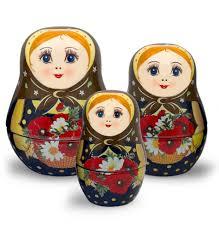 100 Matryoshka Kitchen Nesting Ceramic Measuring Cup