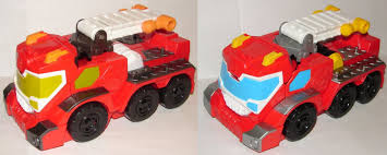100 Rescue Bots Fire Truck Blog 1273 Toy Review Transformers Megabots Night