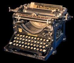 machine à écrire underwood n 5 techneekolor
