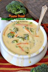 Panera Pumpkin Muffin Ingredients by Panera Bread Broccoli Cheese Soup Can U0027t Stay Out Of The Kitchen