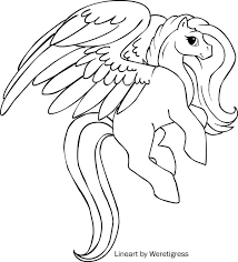 Unicorn With Wings Coloring Pages 69