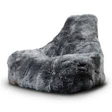 Fur Beanbag Seat