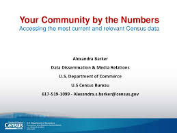 bureau of census and statistics census data to tell your