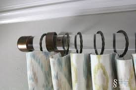 Restoration Hardware Estate Curtain Rods by Diy Tutorial Acrylic Drapery Rods A Storied Style