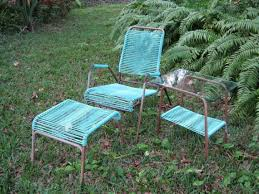 Lawn Chair With Footrest 107 best vintage lawn furniture images on pinterest lawn