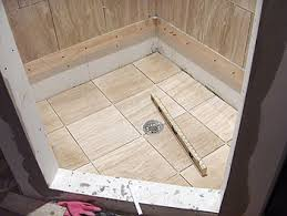 how to tile shower floor on concrete image bathroom 2017