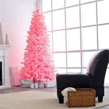 Modern Christmas Tree Decorations Pink Trees Decor Metal Designs