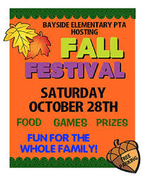 Create A Poster About PTA Fall Festival
