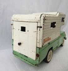 4pc Vintage Tonka Truck Lot Teal Aqua Sportsman Camper Clipper Boat ...