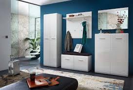 1 garderoben set weiß hochglanz günstig möbel küchen büromöbel kaufen froschkönig24