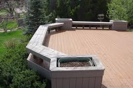 Wood Bench Designs Decks by Cedar Deck Custom Benches Design For Outdoor Furniture