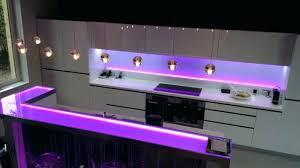 eclairage led cuisine plan travail eclairage plan de travail cuisine led montagemagic eclairage led