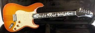 Billy Gibbons Sent Stevie Ray Vaughan A Custom Made Fender Stratocaster Style Guitar In 1984 This Was With Neck Through Body And Arrived