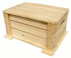 amazon com kids toy chest in unfinished wood toys u0026 games