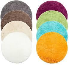 brandsseller badematte badteppich badewannenvorleger duschvorleger rund ca ø 60 ebay