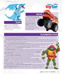 100 Tmnt Monster Truck February 2019 By The Toy Book Issuu