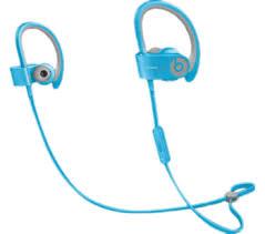 Beats Powerbeats 2 Wireless Light Blue Earphones Bluewater