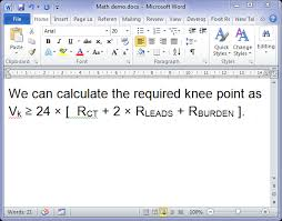 MS Word Tricks Typing Math Symbols