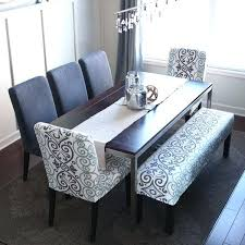 Dining Room Tables With Bench Seating Popular Of Plans Best
