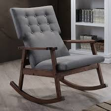 Grey Fabric Rocking Chair | Grey Ikea Rocking Chair In Kensington ... Mid Century Upholstered Rocking Chair Revolutionhr Fniture Beautiful For Home Baxton Studio Bethany Contemporary Gray Fabric Wayfair Custom Upholstery Marlowe Danish Modern Teak At 1stdibs American Style Covered In Modern Fabric Lovely Arms Royals Courage Comfy And Costway Retro Senarai Harga Comfortable Relax Gliders Lounger Cotton White Everyone Luxury Chair Nursery Chairs Bunny Clyde