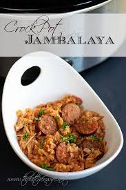 jambalaya crock pot recipe crockpot jambalaya recipe the kitchen