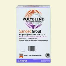 Colorfast Tile And Grout Caulk Msds by Custom Building Products Polyblend 335 Winter Gray 25 Lb Sanded