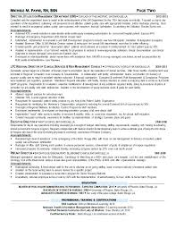 Sample Resume Nurses For Nursing Director Hospice Rn Case Manager