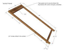 ana white wood folding sling chair deck chair or beach chair