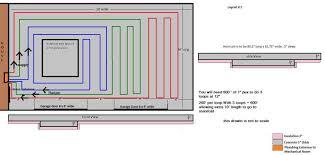 Pex Radiant Floor Heating by My 24x24 Garage Build In Floor Scissor Lift And Radiant Heating