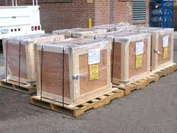 Production Wooden Shipping Crates