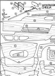 classic model boat plans