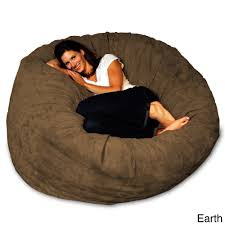 Shop 5-foot Memory Foam Bean Bag Chair - On Sale - Free Shipping ... Bean Bag Chairs Loungers Jaxx Bags The Best Large For Your Rec Room Dorm And High Back Chair For Kids Tall Tough And Textured Beanbag Big Joe Duo Blackred Engine Walmartcom Fur Charcoal Plush Lounger Ivory Deene Grey Kmart Ace Casual Fniture Black Vinyl 1320701 Home Depot Teardrop Inoutdoor Majestic Goods Individual Every Space Review Geek 6 Tips On How To Clean A Overstockcom