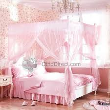 Image Detail For Wholesale Household Lace Ruffle 4 Poster Bed Canopy One