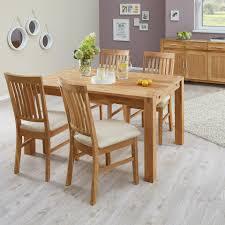 essgruppe royal oak 90x140 4 stühle beige