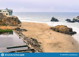 100 The Cliffhouse Ruins Of Sutro Baths On A Cloudy Day Cliff House In