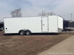 2018 8.5x24 Stealth Titan 10K Car Hauler (White) 8'6