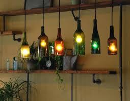 Wine Jug Pendant Light Recycled Bottle