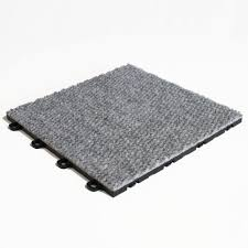 blocktile b4us4620 interlocking carpet tiles premium gray 20