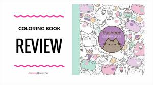 Pusheen Coloring Book Review