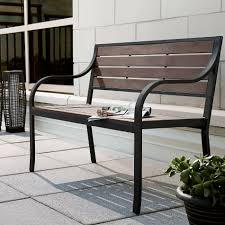 Ty Pennington Patio Furniture Cushions by Bench Kmart Garden Bench Ty Pennington Quincy Slat Bench Kmart